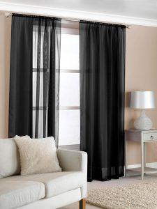 Gorden minimalis warna hitam