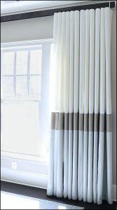 Gorden minimalis dengan sentuhan warna hazelnut