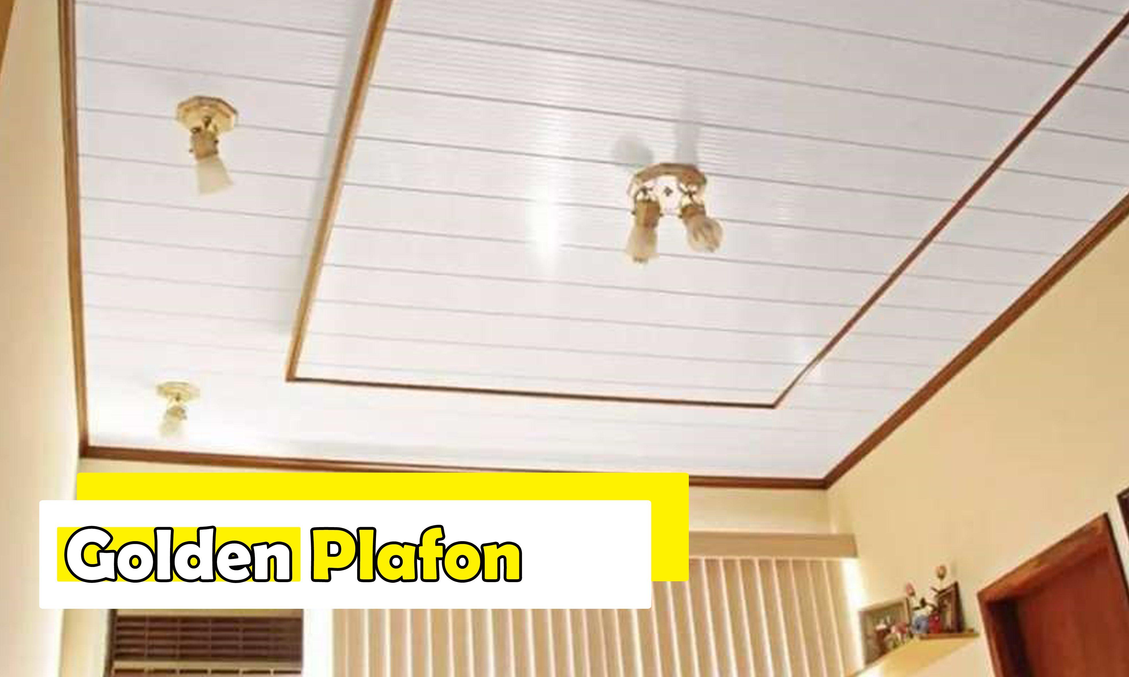 golden plafon